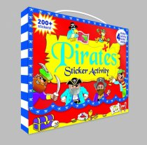 Pirates Sticker Activity Carry Case