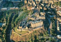 Edinburgh Castle from Air, Edinburgh Postcard (H Std CB)