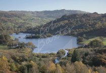 Rydal Water from White Moss Common, Lake District Postcard (H St