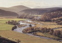 Ben Avon & River Avon, Moray Postcard (H Std CB)