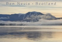 Ben Nevis across Loch Eil, West Highlands Postcard (H Std CB)