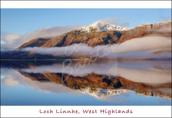 Loch Linnhe, West Highlands Postcard (H Std CB)