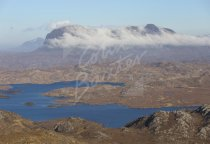 Suilven, Sutherland beyond Inverpolly Postcard (H Std CB)