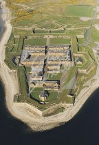 Fort George, Moray Firth From Air Postcard (V Std CB)