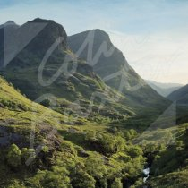Three Sisters, Glencoe Greetings Card (CB)