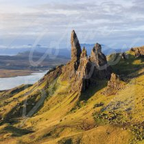 Old Man of Storr, Trotternish Greetings Card (CB)