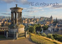 Edinburgh - City from Calton Hill Magnet (H CB)