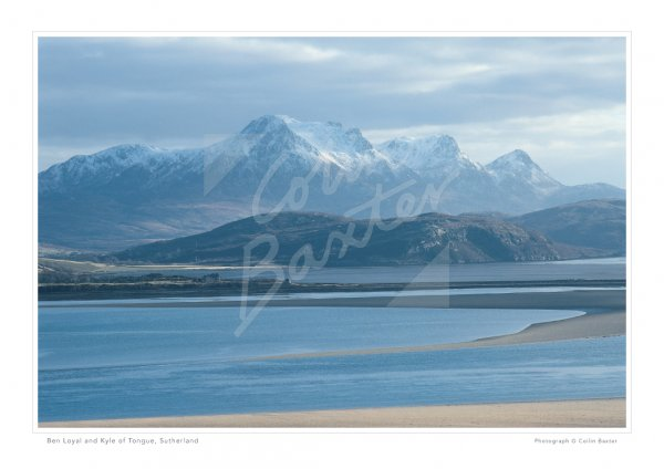 Ben Loyal & Kyle of Tongue, Sutherland Print