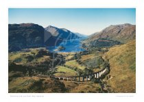 Glenfinnan & Loch Shiel, West Highlands Print