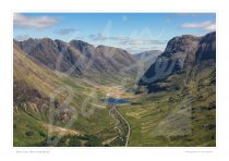 Glen Coe, West Highlands Print
