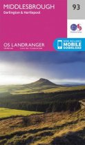 Landranger 93 Middlesbrough