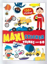 Maxi Stickers - Things That Go