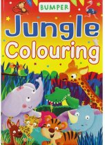 Bumper Jungle Colouring