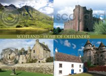 Scotland Home of Ourlander Magnet (H LY)