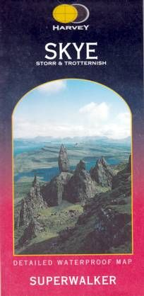 Superwalker Map Skye, Storr & Trotternish