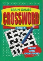 Brain Games Crossword 4 titles Asst