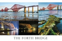 Forth Bridge Composite Postcard (HA6)