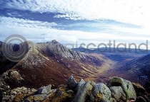Glen Rosa From Cir Mhor Postcard (HA6)