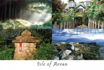 Isle of Arran Composite (2) Postcard (H A6 LY)