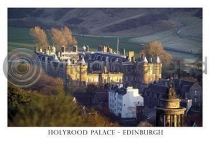 Holyrood Palace, Edinburgh Postcard (HA6)