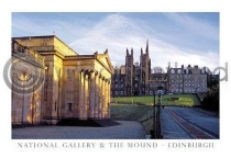 National Gallery & the Mound Postcard (HA6)