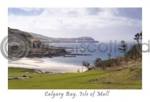 Calgary Bay, Isle Of Mull Postcard (HA6)