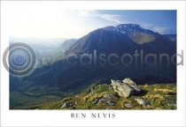 Ben Nevis From Mamores Postcard (HA6)