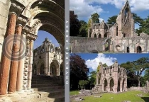 Dryburgh Abbey Composite Postcard (H A6 LY)