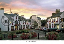 Melrose Square at Sunset Postcard (H A6 LY)