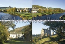 Peebles Postcard (H A6 LY)