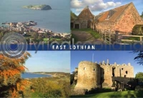 East Lothian Composite Postcard (HA6)