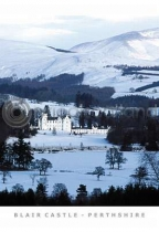 Blair Castle, Winter (VA6)