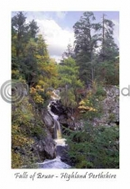 Falls of Bruar - Highland Perthshire Postcard (V A6 LY)