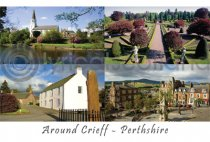 Crieff Composite Postcard (H A6 LY)