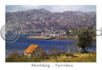 Shieldaig Postcard (HA6)