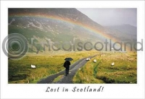 Lost In Scotland Postcard (HA6)