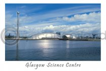 Glasgow Science Centre Postcard (H A6 LY)
