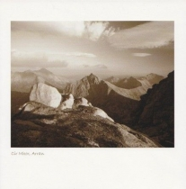 Cir Mhor Sepia Greetings Card (LY)