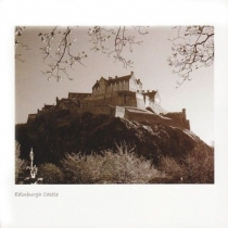 Edinburgh Castle Sepia Greetings Card (LY)