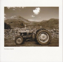 Fordson Dexta Sepia Greetings Card (LY)