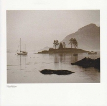 Plockton, Wester Ross Sepia Greetings Card (LY)