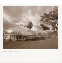 Kibble Palace Sepia Greetings Card