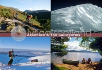 Aviemore & Cairngorms Composite Postcard (H A6 LY)