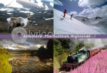Aviemore & Scottish Highlands Postcard (HA6)