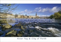 River Tay & City of Perth Postcard (H A6 LY)