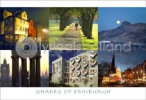 Shades of Edinburgh Postcard (HA6)