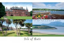 Isle of Bute Composite Postcard (H A6 LY)