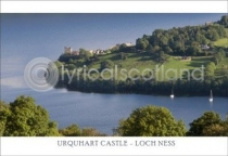 Urquhart Castle - Loch Ness Postcard (H A6 LY)