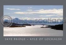 Skye Bridge Postcard (HA6C)