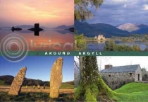 Around Argyll Postcard (H A6 LY)